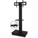 Marvel MVPFS6080DT-E Monitor Stand with Shelf & Earpiece Microphone