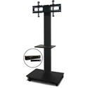 Marvel MVPFS6080DT-H Monitor Stand with Shelf & Hand Microphone
