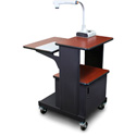Marvel MVPSM2432CHDT Benchmark Cart with Metal Door - Cherry