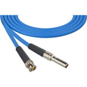 Mid-Size Video Patch to BNC Cables Blue 2ft