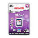 Maxell SD-104 4 GB Secure Digital High Capacity (SDHC) - 1 Card