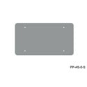 Mystery FP-4G-0-S 4-Gang Stainless Wall Panel Blank