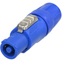 Neutrik NAC3FCA Lockable Cable Connector Power-in Screw Terminals - Blue