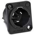 Neutrik NAC3MPX-TOP Receptacle End Conn. PowerCON TRUE1 TOP Male Power in 1/4 Inch Flat tab terminals IP 65 & UV Rated