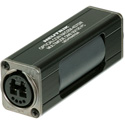 Neutrik NAO2M-H1W-A opticalCON DUO LC Duplex Multimode Coupler IP65 Black