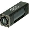 Neutrik NAO4MW-A opticalCON QUAD LC Multimode Coupler IP65 Black