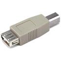 USB 2.0 A Female/B Male Adapter