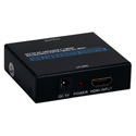 HDMI 4K Audio De-Embedder/Extractor with HDMI Pass Through Port