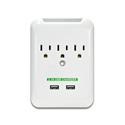 USB 2.1A Charging Surge Wall Tap