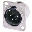 Neutrik NC4MD-L-1 D-Series 4-Pin XLR Male Silver