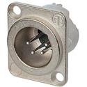 Neutrik NC4MD-LX 4 Pole Male XLR - Nickel/Silver