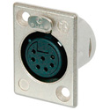 Neutrik NC7FP-1 7 Pin Female XLR Panel Receptacle