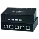 Network Technologies ETH-2X1-RS-G 2-Port Manual Gigabit Ethernet Switch with RS232