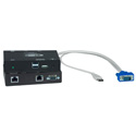 NTI ST-C5USBVU-1000S Hi-Res USB KVM Extender with Additional USB Port via CATx to 1,000 Feet