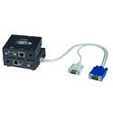 NTI ST-C5VRS-600 VGA Extender with RS232 via CATx to 600 feet