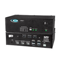 NTI VOPEX-USBH-4 DVI/HDMI USB KVM Splitter 4-Port