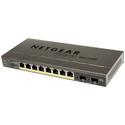 NetGear GS510TP-100NAS ProSAFE 10-Port Gigabit PoE Smart Managed Switch with 8 PoE Ports and 2 Dedicated Gigabit SFP Por