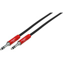 Neutrik NKTB05-R 1/4in Longframe Patch Cord 24in - Red