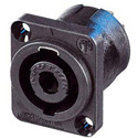 Neutrik NL4MP-UC 4 Pole Male Speakon With Square Flange -Upper Current
