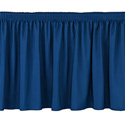 National Public Seating SS8-48-04 Skirt 48 Inch Navy Blue
