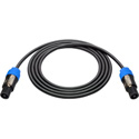 Sescom NSP4-100 Neutrik 4-Pole Speakon to 4-Pole Speakon Speaker Cable - 100 Foot