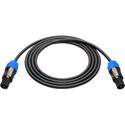 Sescom NSP4-20 Neutrik 4-Pole Speakon to 4-Pole Speakon Speaker Cable - 20 Foot