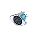 Rean NYS326 Receptacle - DIN 7 Pin Female - 270 Degrees Nickel/Silver