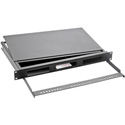 OCC RTC1UBHS Rackmount Fiber Cabinet 1 RU 4 Inch Deep with Front Cable Manager and Splice Holder