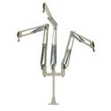 O.C. White 51900-3 ProBoom Deluxe Triple Mic Arm with Riser - 29in Reach - 12in Triple Mic Riser - Beige