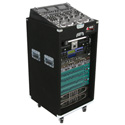 Odyssey CXP1118W Pro 11 Space x 18 Space Combo Rack with Wheels