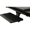 OmniRax Black Keyboard Shelf for the Nova Desk-Black