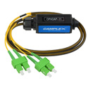 Camplex OPADAP-11 opticalCON QUAD APC to Four (4) LC/APC Breakout Adapter - Singlemode