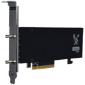 Osprey Video Raptor 1215 1x 12G SDI I/O Genlock Embedded 8 Stereo Audio Pairs Per Channel