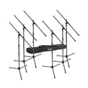 On Stage Stands MSP7706 Euro Boom Microphone Stand 6 pack