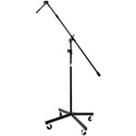 On Stage Stands SB96 PLUS Studio Boom with 7 Inch Mini Boom Extension and Casters
