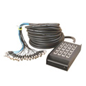On Stage Stands SNK16450 50 ft. Stage Snake with 16 Channels