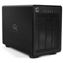 OWC TB2SRKIT0GB ThunderBay 4 Four-Bay Professional Grade Enclosure with Dual Thunderbolt 2 Ports - RAID 5 Solution