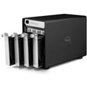 OWC OWCTB3IVKIT0GB ThunderBay 4 Four-Bay Drive Enclosure with Dual Thunderbolt 3 Ports RAID-Ready with Cable