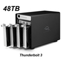 OWC OWCTB3SRT48.0S 48.0TB ThunderBay 4 Four-Drive HDD with Dual Thunderbolt 3 Ports RAID-5 Preconfigured Solution