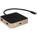 OWC OWCTCDK5PGD Type-C Travel Dock - 5-Port - Gold