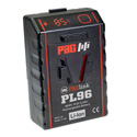 PAG PAGlink PL96T 14.8V Time Battery Rechargeable V-Mount Li-Ion