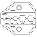 Greenlee PA2699 Universal HDTV Die for CrimpALL 8000/1300 Series Crimper