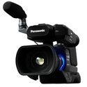 Panasonic AG-AC8PJ AVCHD 1080p Solid State SD Card Shoulder Mount Camcorder