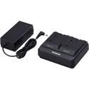 Panasonic AG-BRD50P Pro Grade Dual Battery Charger for AG-BRD50P/AG-VBR118G/AGVBR59P and AG-VBR89G