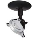 Panavise 120140B Black Short Drop Ceiling Speaker Mount 40lb.