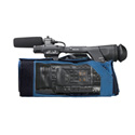 Portabrace CBA-HPX250 Camera Body Armor for the Panasonic AG-HPX250/255 - Blue