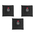 Portabrace CS-B93 Cam-Corder Stuff Sack - Set of 3 - Black