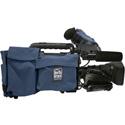 Portabrace SC-HPX370B Shoulder Case for Panasonic AG-HPX370 Camera - Blue