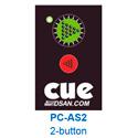 PC-AS-2 Pocket Size 2-Button Actuator for DSA-PCUE