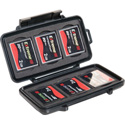 Pelican 0945 Compact Flash Memory Card Case - Black